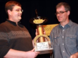 Matt Levin's latkes take Beth El's first Latke Fest trophy