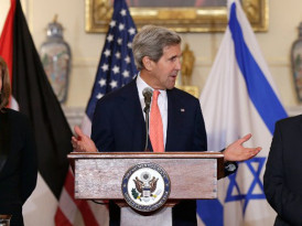 Kerry flies to Israel to salvage peace process