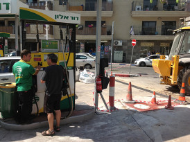 Rockets pop Tel Aviv's bubble but not its residents' routines