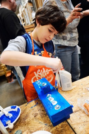 Home Depot joins Clifton Park Chabad to offer menorah workshop