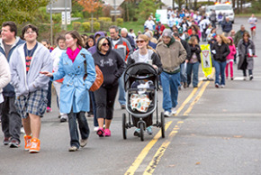 Walking for Water!  Over 150 people attended to support Israel and its environment and raised $30,000!