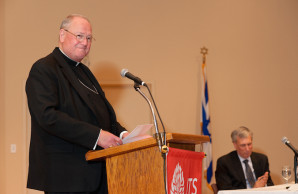 New York's Cardinal Dolan at JTS lecture says Catholic-Jewish relations are strong