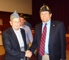 Jewish War Vets Post 105 welcomes new leader