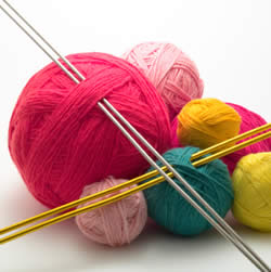 KnitandNoshClub weekly meetings on Thursdays at Beth Emeth in Albany; open to the community