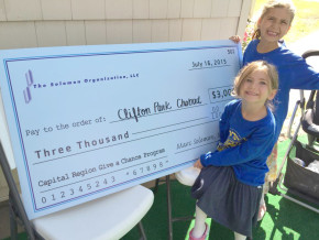 Clifton Park Chabad awarded $3,000 by Solomon Organization