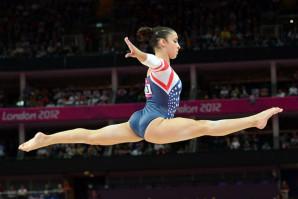 Aly Raisman has her eyes on Rio, but must practice practice practice…