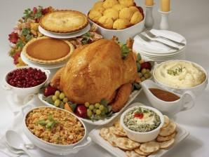 Thanksgiving Shabbat dinner set by Bethlehem Chabad