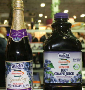 Teaming up, Welch's and Manischewitz challenge kosher grape juice monopoly