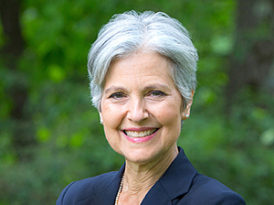 Jill Stein, the last Jewish presidential candidate standing, but supports BDS