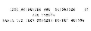 The Braille version of the Shema.