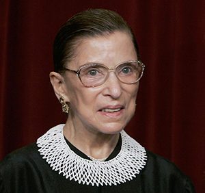 Justice Ruth Bader Ginsburg (Photo by Mark Wilson/Getty Images)