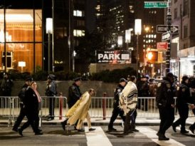 About 20 Rabbis Arrested During Protest Over Trump Travel Ban