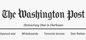 Newspaper's 'Democracy Dies in Darkness' motto irritates Trump: Is democracy alive and kicking?