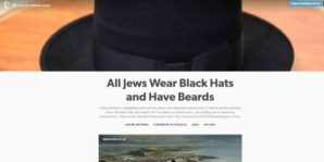 Branding Jews exotic: A Tumblr blog is documenting the way Jews are depicted in mainstream media