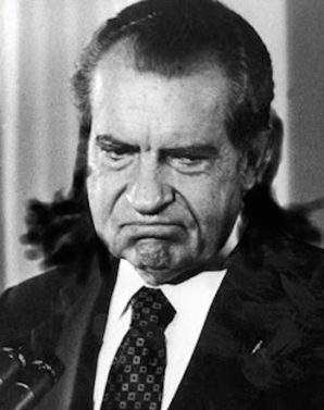 Does Nixon's story contain a warning for Trump?