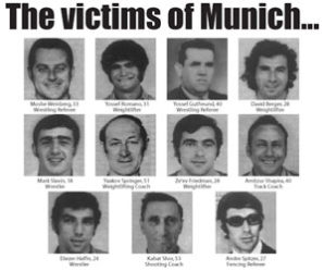 45 years after the Munich Massacre, murdered Israeli Olympians given a memorial
