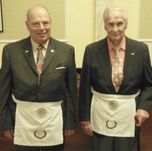 Service of Sutton, Phillips to Delmar masonic lodge recognized