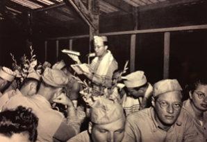 Area photographer's WW2 negativesfocus on 1945 seder in Guam