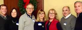 Beth Emeth social group attends Cap Rep performance