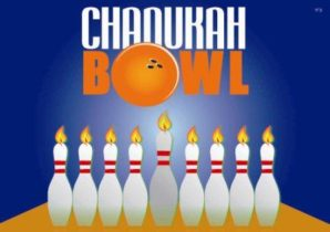 Family Chanukah bowling party slated  by Saratoga Chabad on Dec. 14