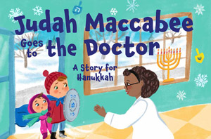 Judah Maccabee went to the doctor. Then the anti-Vaxxers got very mad.