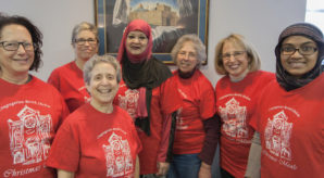 Sisterhood of Salaam Shalom (SOSS) helps out with Christmas charity programs