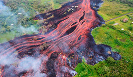 Lava from Hawaii's Kilauea volcano reaches Israeli-owned power plant