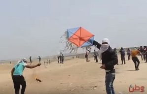 Terror kites' shake residents in southern Israel, but not their resolve to stay put