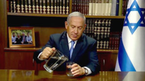 Netanyahu tells Iranians he can save them from drought