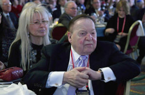 Adelsons' $55 million for national GOP races makes them 'biggest spenders' in all of American politics
