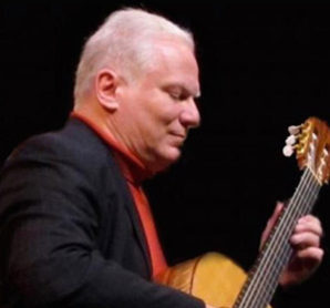 Harry George Pellegrin, classical guitarist, to perform at Senior Moments lunch