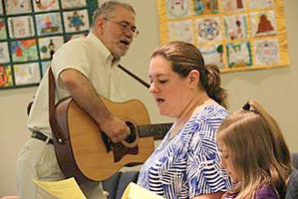 B'nai Sholom Tot Shabbats featuring songs, prayers and stories for kids to continue
