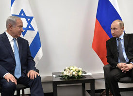 Putin, Netanyahu decide to coordinate military forces in Syria
