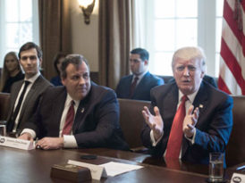 Welcome To An A Show: Chris Christie takes a bump; is takedown of Jared Kushner a cheap pop?