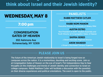 Temple Gates convenes panel to discuss what  young American Jews think about Israel and Jewish identity?
