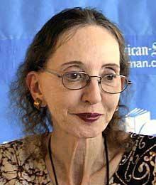 Joyce Carol Oates receives Jerusalem Prize