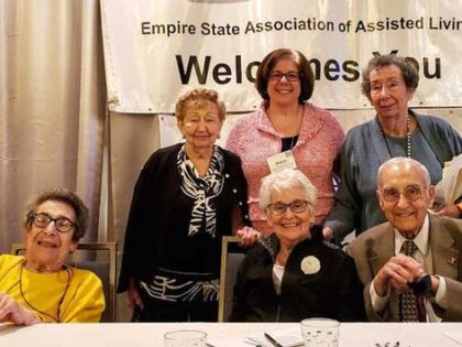 Residents from The Massry share thoughts on resident-led interest groups at assisted living conference