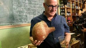 L' Chaim! A pint from the past: Israeli scientists recreate ancient brew from 5,000-year-old beer jugs