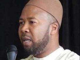 Imam decries 'unholy' pact  with 'progressives' over 'Palestine' mania