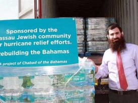 Chabad in battered Bahamas organizes supplies, volunteers for relief efforts