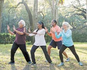 Tai Chi held every Monday at Gates of Heaven