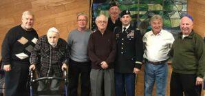 Veterans honored at Beth Shalom
