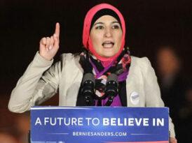 Linda Sarsour backs Bernie Sanders, but not his support for Israel!