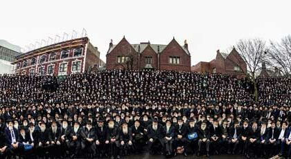 Get out your magnifying glass! Can you spot any of our local Chabad rabbis?