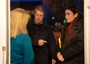 Hugh Grant campaigns with Luciana Berger in London's most Jewish borough