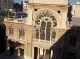 Newly renovated Alexandria synagogue hosts Egypt's largest service in decades