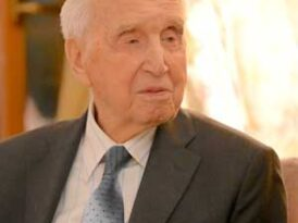 A love affair that made him risk everything: Poland's oldest rescuer of Jews reveals an epic WWII story