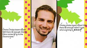 Meet the dad bringing Jews stuck at home  the sounds of Torah — set to children's books