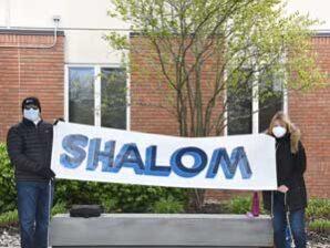 Beth Emeth holds 'Drive-by Shabbat'