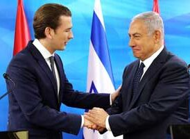 Chancellor Kurz has reversed Austria's treatment of Israel from negative to positive